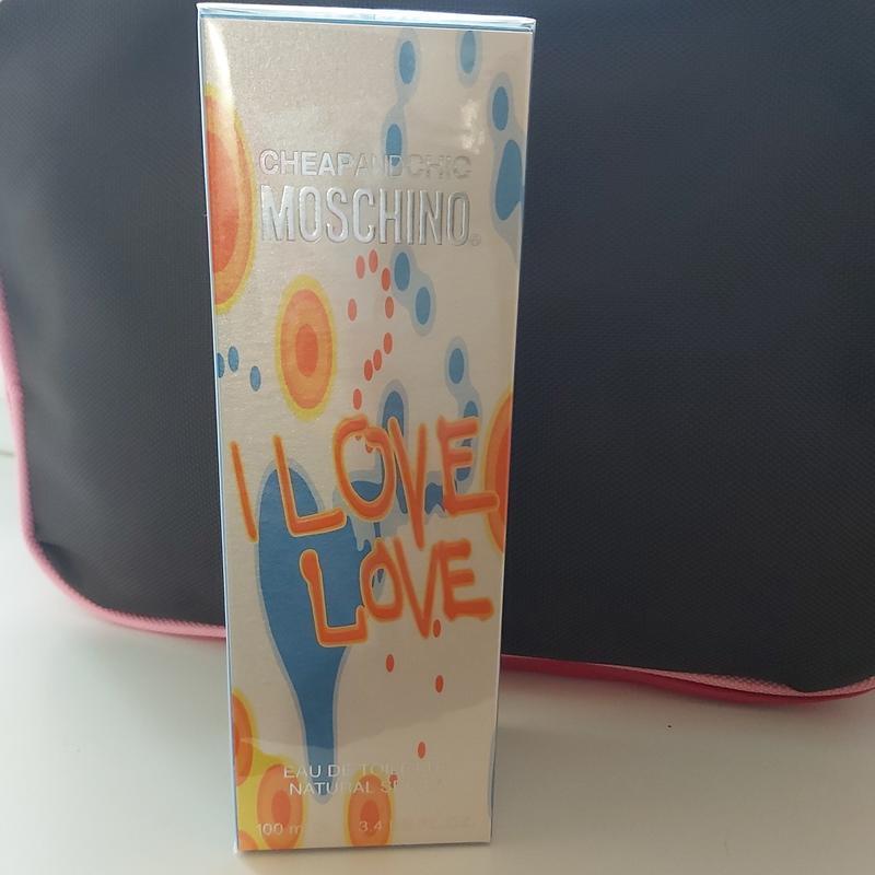Оригинал! туалетная вода moschino i love love 100 мл