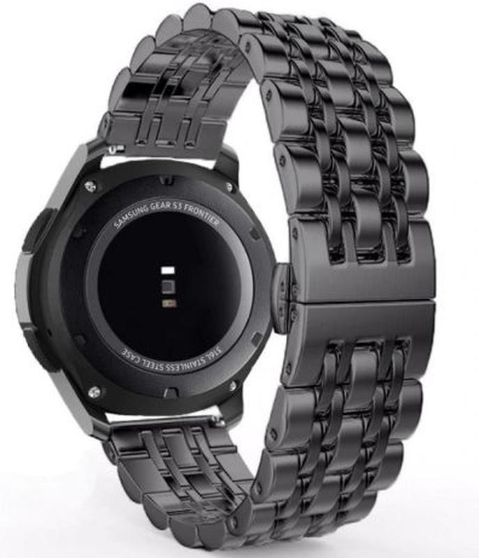 Браслет бабочка 22мм нержавейка Samsung Gear S3/Galaxy Watch 46mm