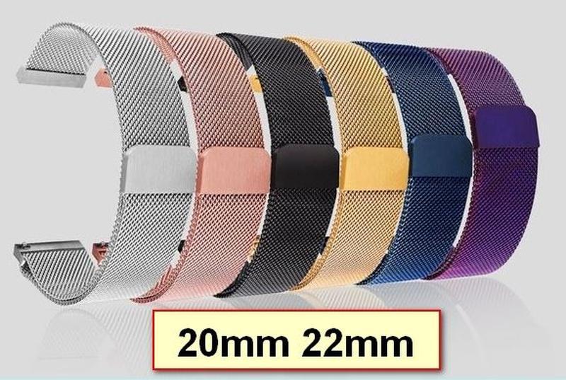 Браслет Миланская петля 20мм 22мм Samsung 42mm 46mm Active etc