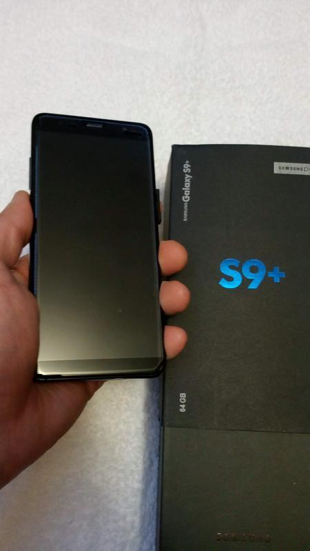Samsung galaxy s9+ карея