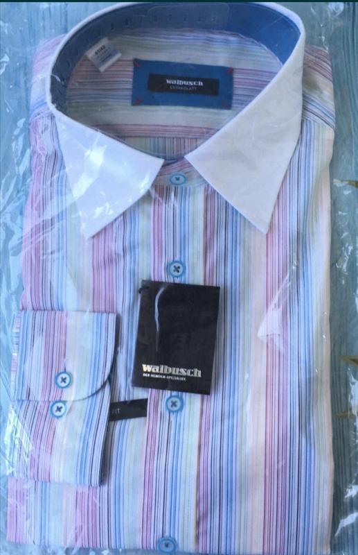 Новая мужская рубашка walbusch р. 41/42