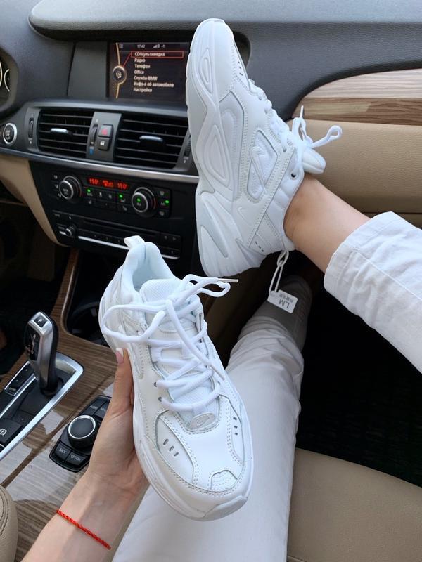 Кроссовки женские m2k tekno white (осень) - Фото 2