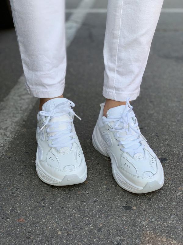 Кроссовки женские m2k tekno white (осень) - Фото 5
