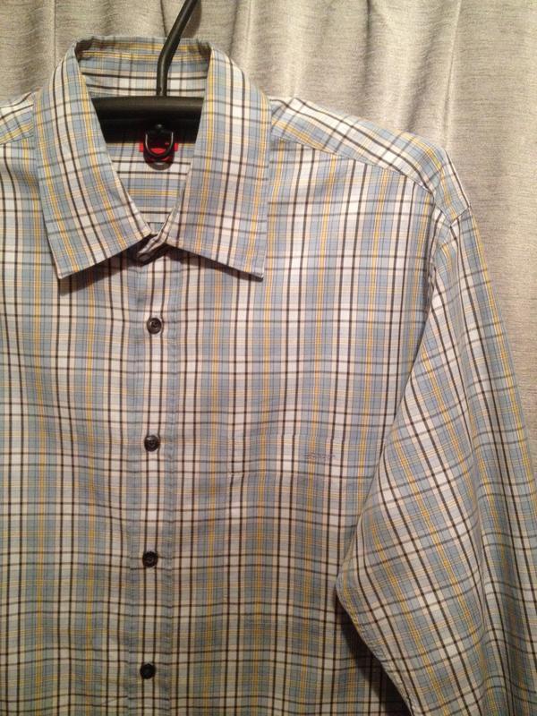 Оригинальная рубашка в клетку бренд espit.