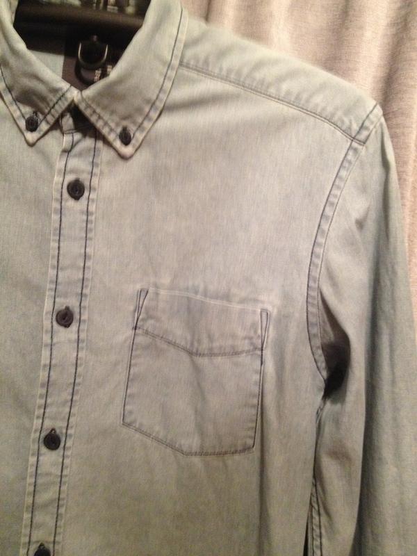 Оригинальная коттоновая рубашка.