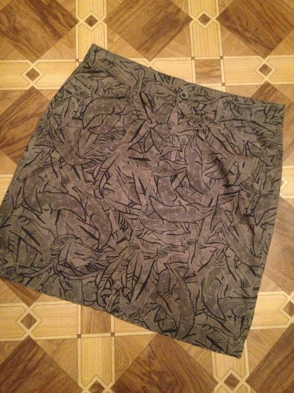 Оригинальная коттоновая юбочка.017
