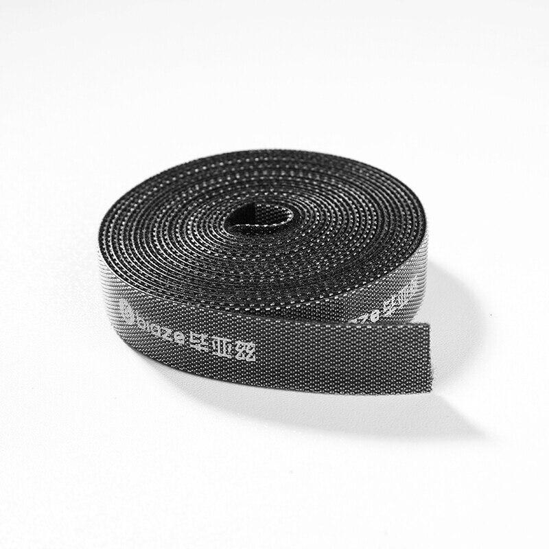 Biaze лента органайзер проводов на липучке стяжка 5 м х 1.4 см