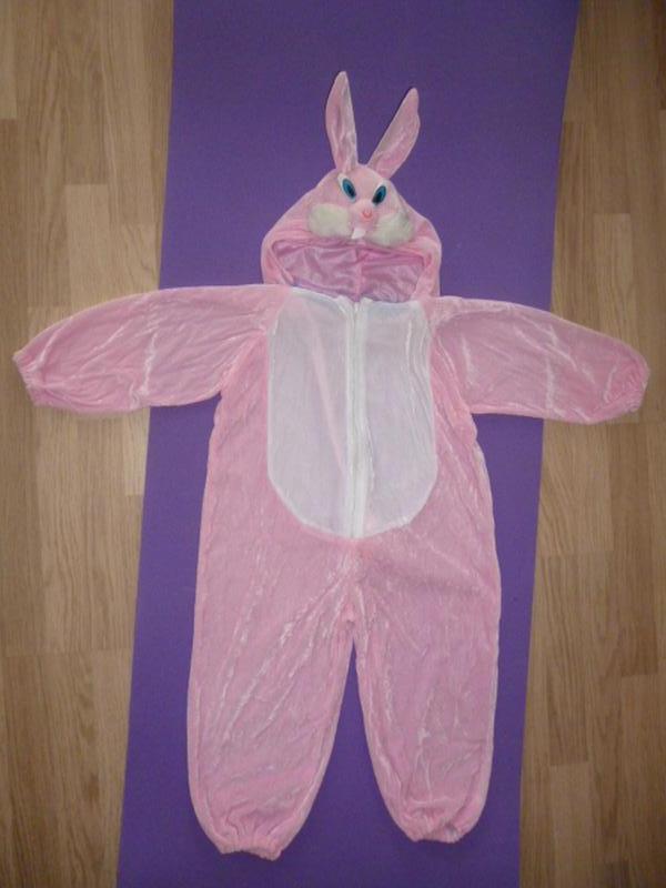 Костюм карнавальный зайчик розовый