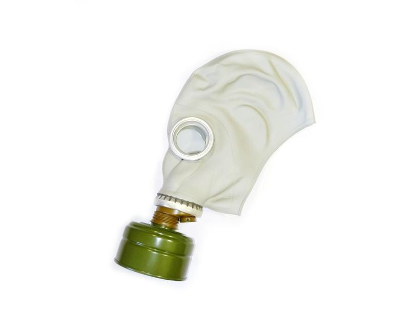 Противогаз ГП-5, комплект: маска, сумка, фільтр, лінзи нп. НОВИЙ - Фото 2