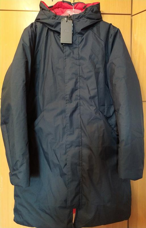 Эффектная зимняя мужская куртка пальто пуховик р м. био пух