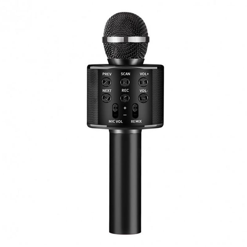 Микрофон WS-858 WSTER BLACK. Цвет: черный - Фото 2