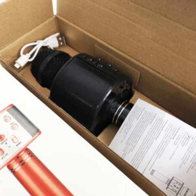 Микрофон WS-858 WSTER BLACK. Цвет: черный - Фото 3