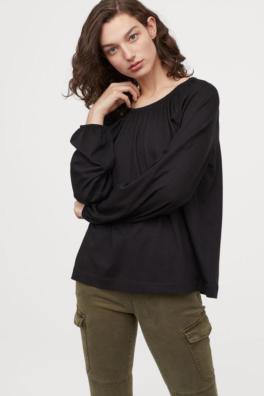 Новая блузка от h&m.