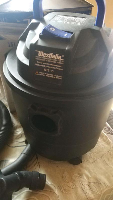 Строительный пылесос Westfalia
