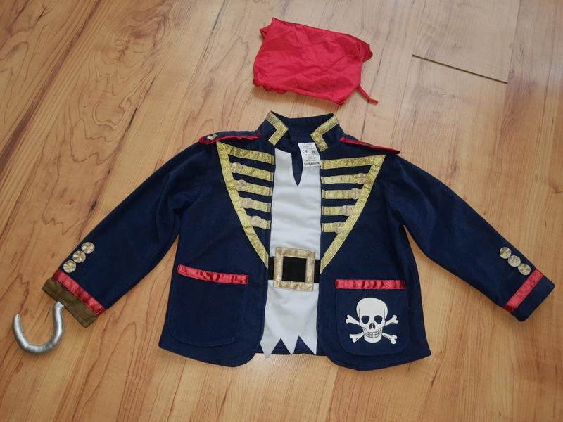 Карнавальный костюм пирата с кручком