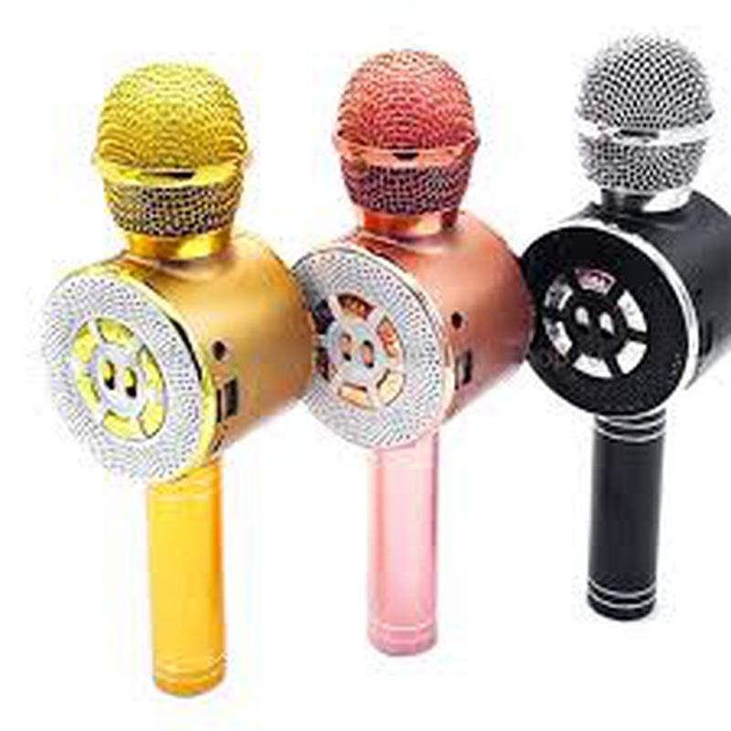 Караоке микрофон Wster WS-669 со встроеннымсо встроенным динамико - Фото 3