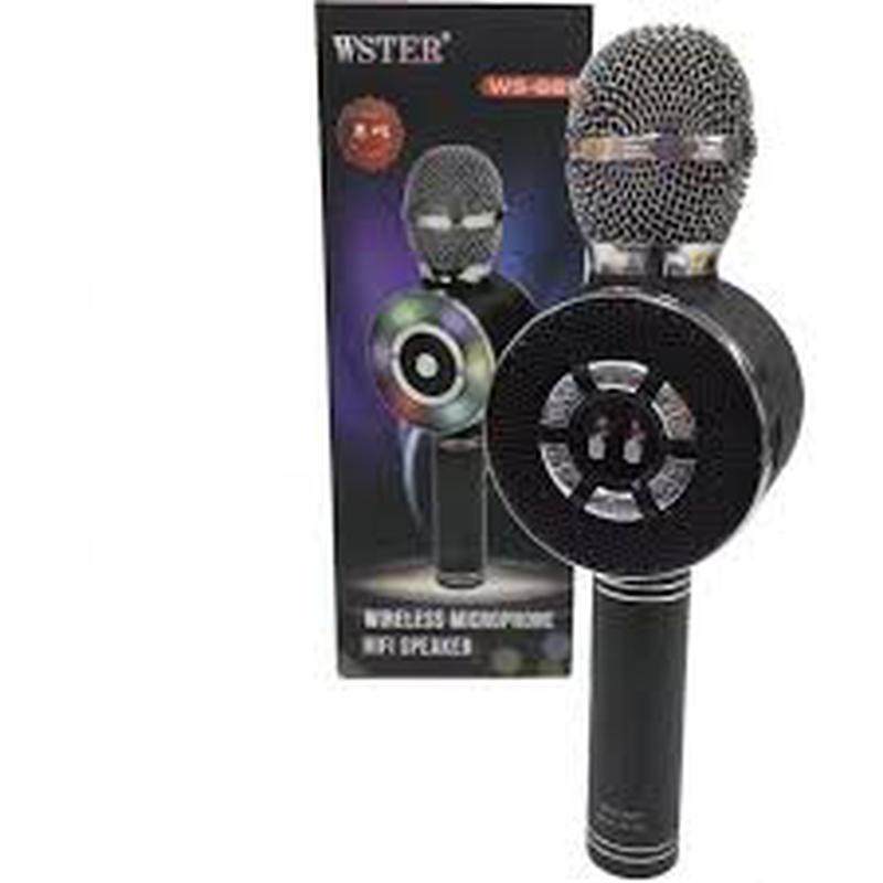 Караоке микрофон Wster WS-669 со встроеннымсо встроенным динамико - Фото 6