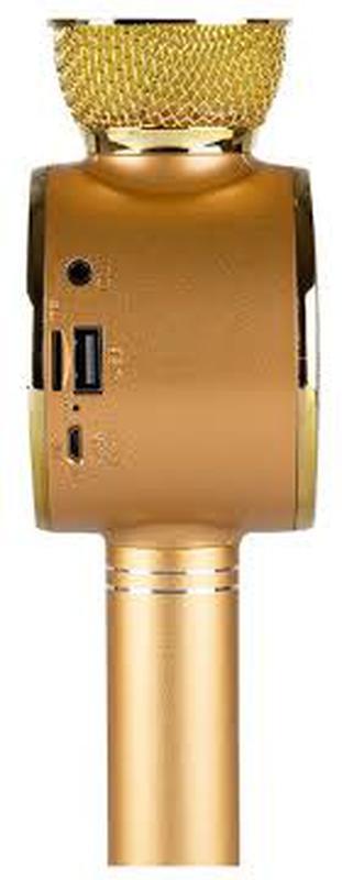 Караоке микрофон Wster WS-669 со встроеннымсо встроенным динамико - Фото 9