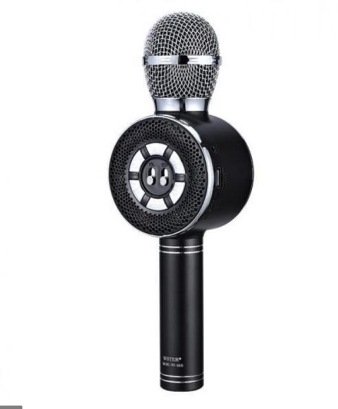 Караоке микрофон Wster WS-669 со встроеннымсо встроенным динамико - Фото 11