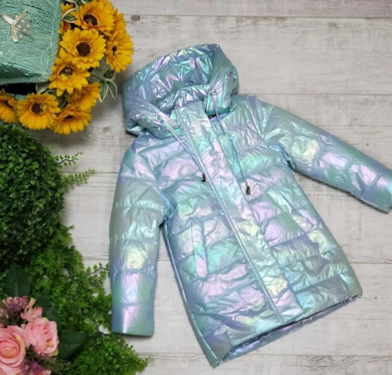 Демисезонные детские куртки для девочек