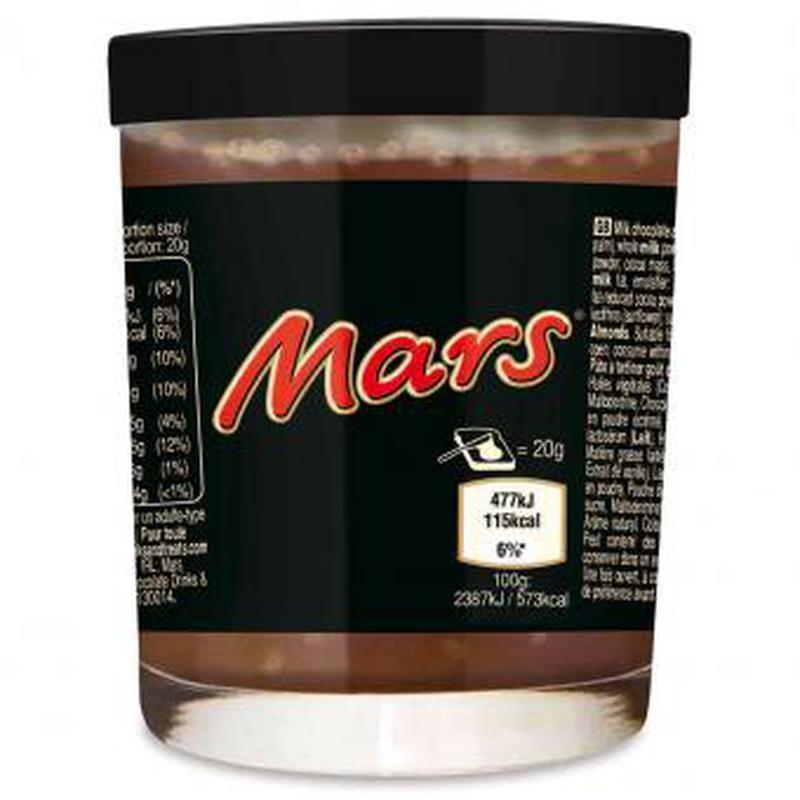 Шоколадная паста Mars 200g