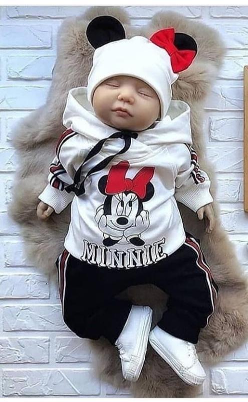 Комплект для малышек с начесом