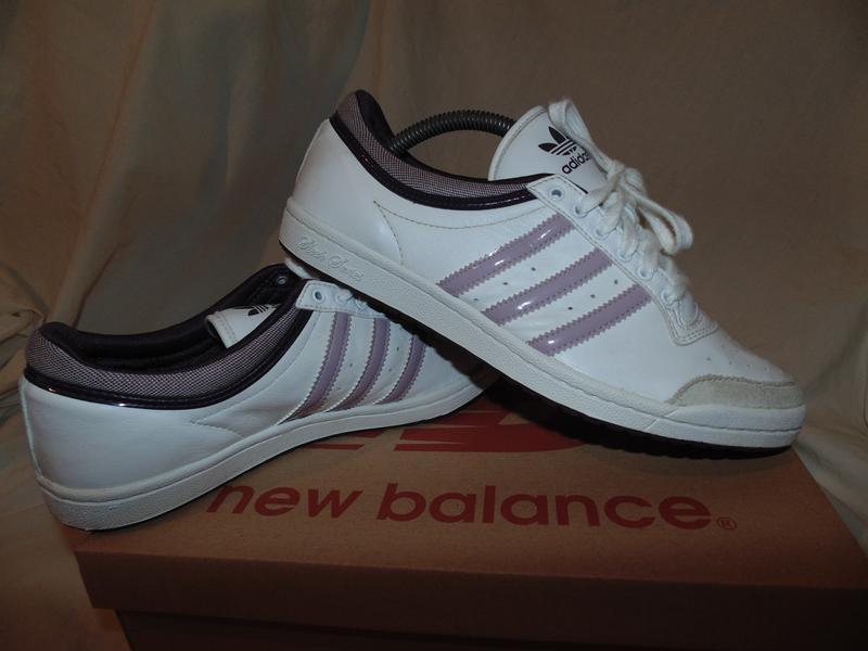Кроссовки кеды adidas оригинал кожа и замша как новые одевалис...