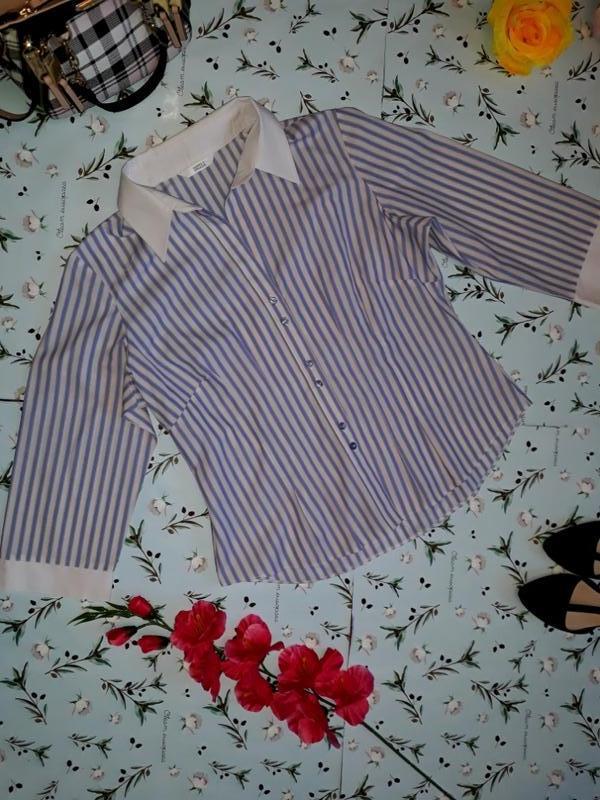 Блуза в модную полоску marks&spencer, размер 46 - 48