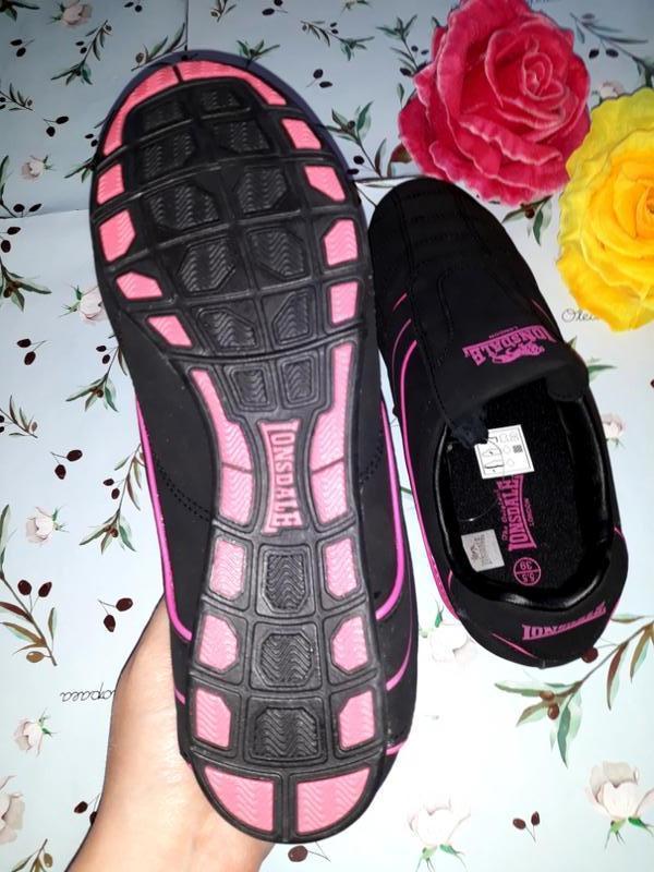 Акция 1+1=3 черные кроссовки с натуральной кожи lonsdale (ориг... - Фото 2