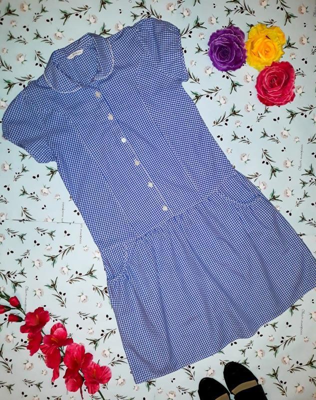 Модное хлопковое платье marks&spencer, размер 40 - 42
