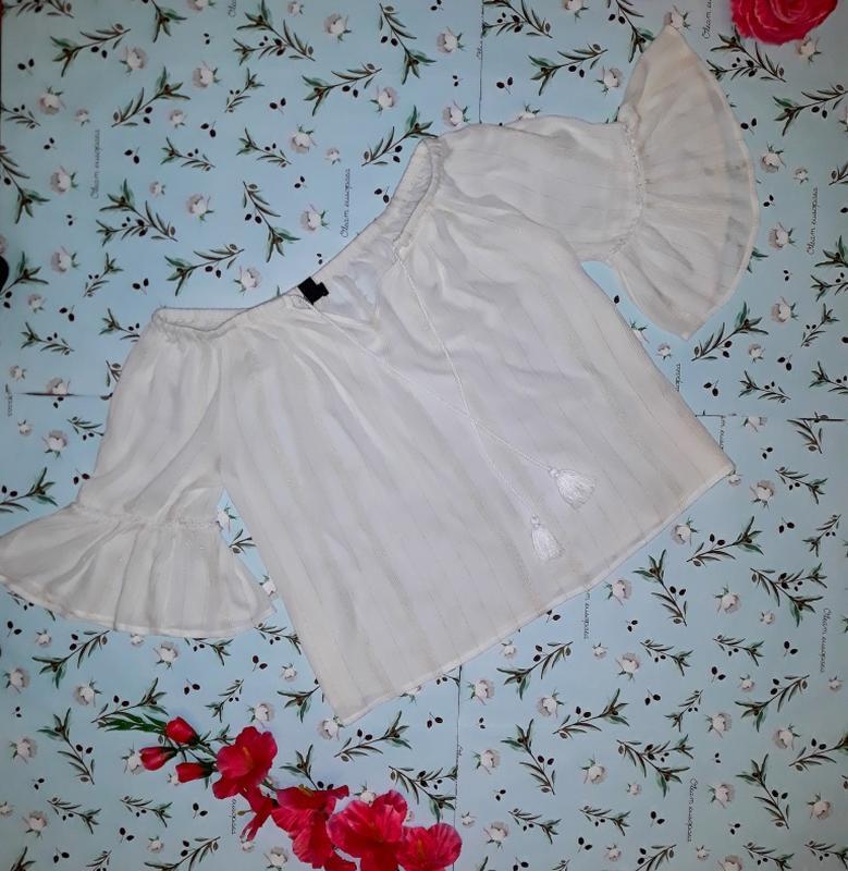 Стильная блуза new look свободного кроя, размер 46 - 48