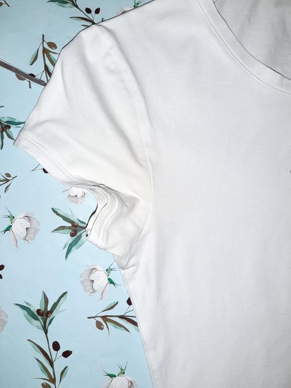 Бесплатная доставка! стильная базовая белая футболка elle spor... - Фото 4