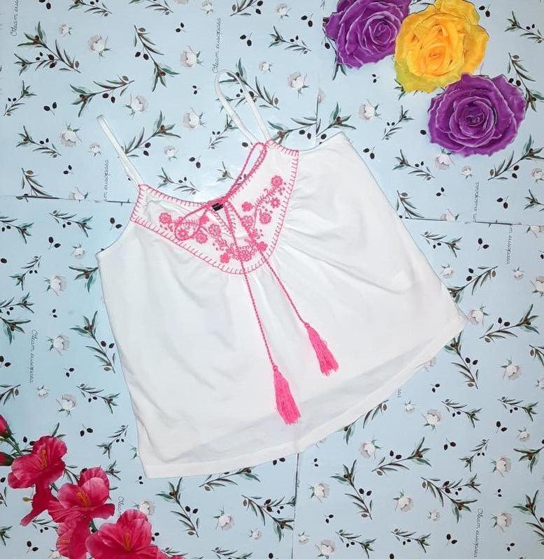 Бесплатная доставка!  стильный белый топ блуза вышиванка atmos...