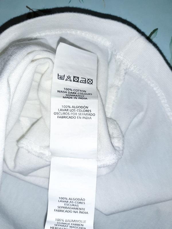 Бесплатная доставка!  стильный белый топ блуза вышиванка atmos... - Фото 10
