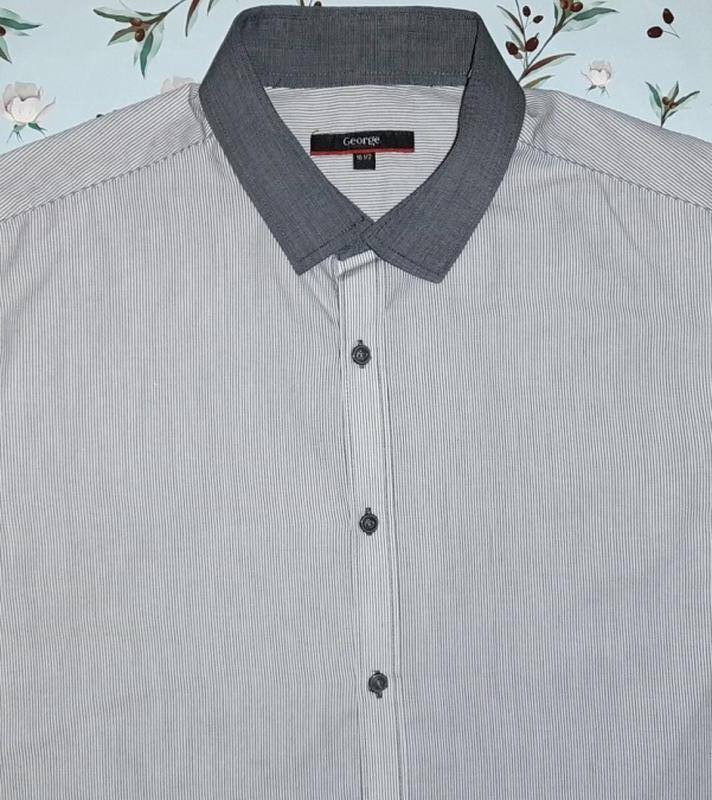Оригинальная серая рубашка george, размер 50 - 52