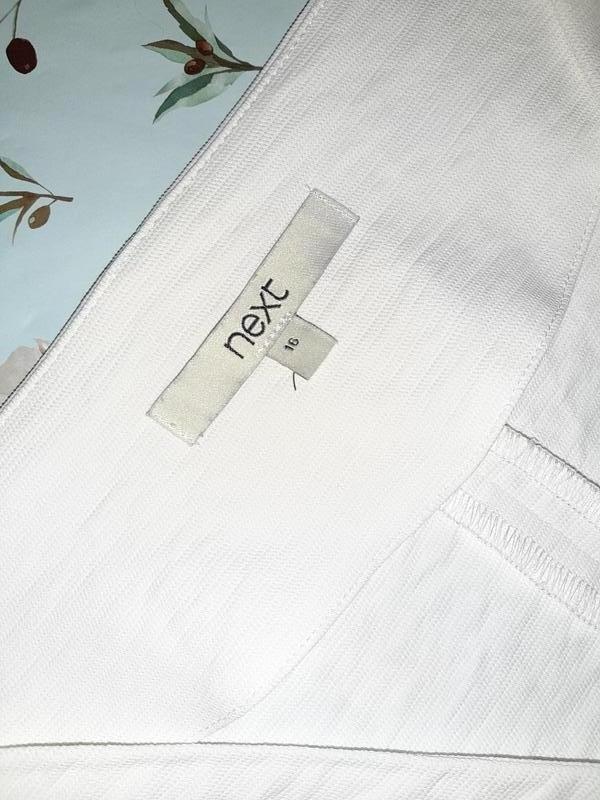 Бесплатная доставка!оригинальная белая футболка со шнуровкой n... - Фото 9