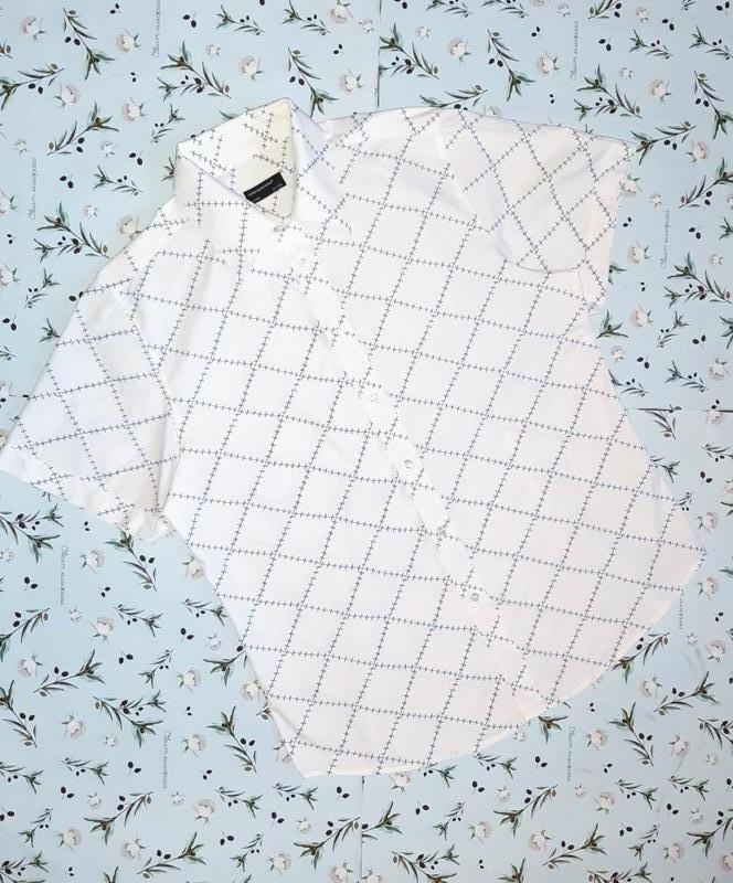 Стильная фирменная рубашка шведка cedarwood state, размер 48 - 50