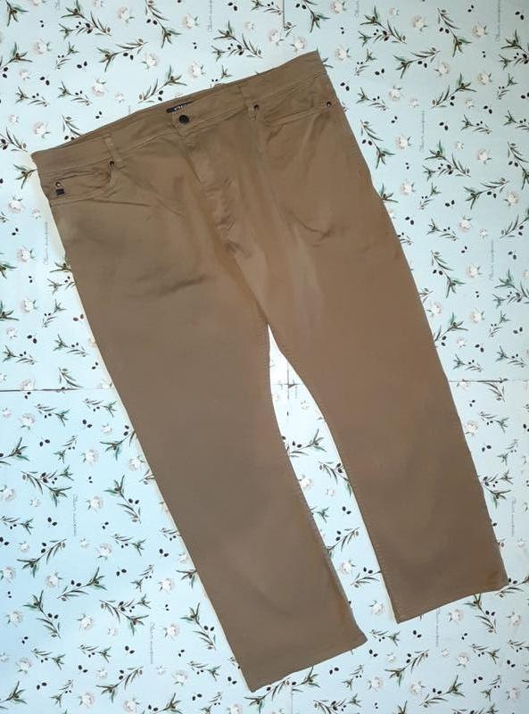Фирменные прямые повседневные брюки хаки marks&spencer, размер...