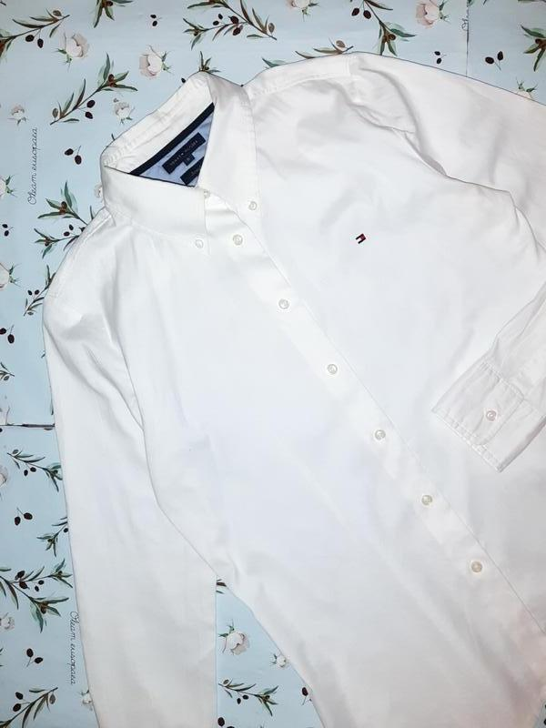 Бесплатная доставка!  базовая белая рубашка блуза tommy hilfig... - Фото 6