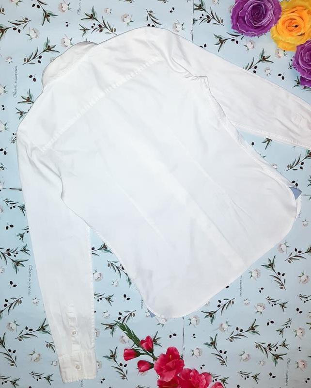 Бесплатная доставка!  базовая белая рубашка блуза tommy hilfig... - Фото 7