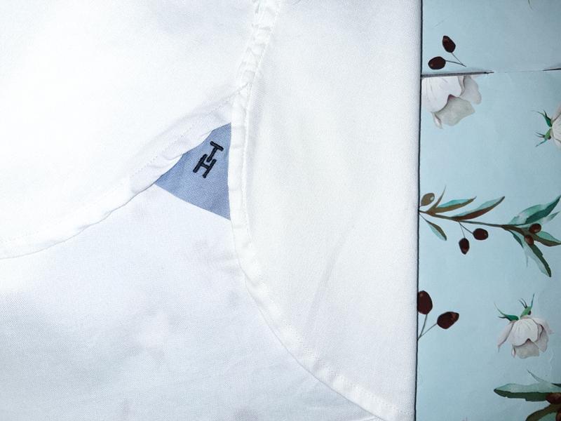 Бесплатная доставка!  базовая белая рубашка блуза tommy hilfig... - Фото 9