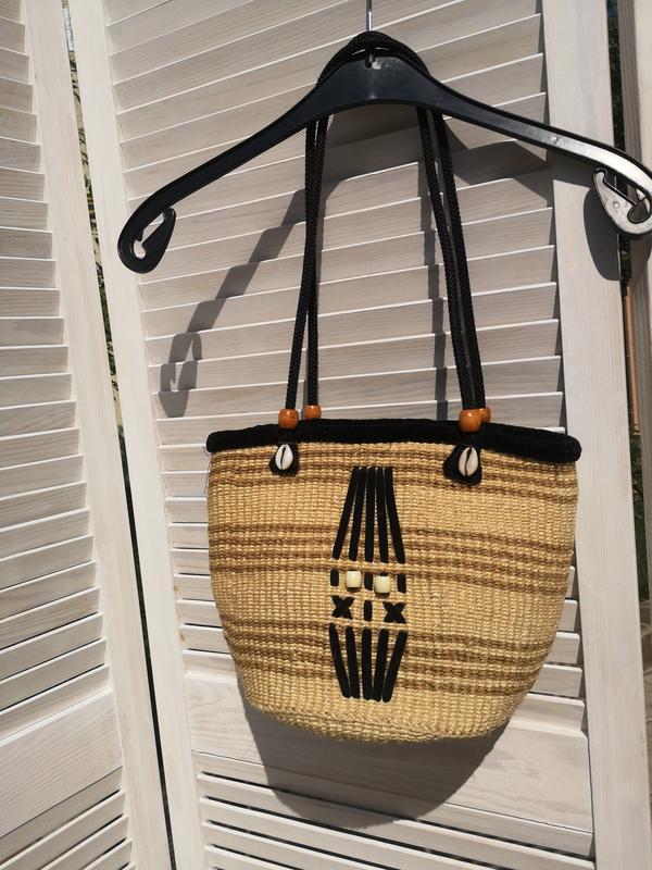 Плетёная сумка плетёнка