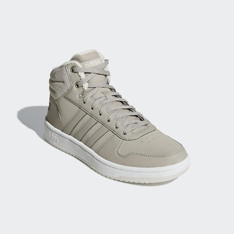 Женские кроссовки adidas hoops 2.0 mid w(артикул:b42107