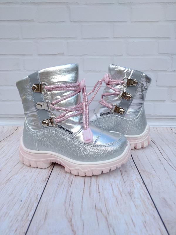 Теплющие ботиночки на девочку.