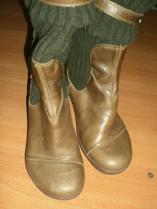 Ексклюзив! шикарні зручні чобітки аrt compan шкіра!! - Фото 3