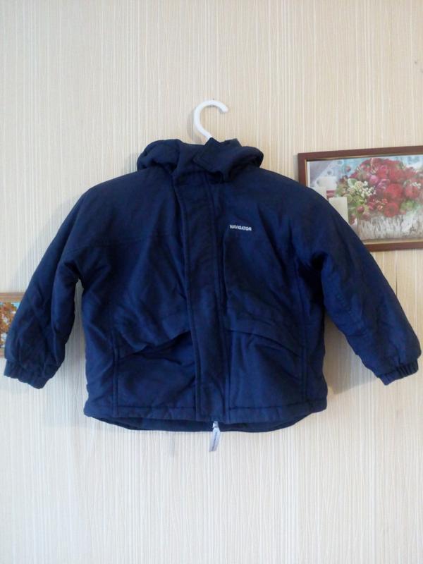 Теплая осенняя демисезонная куртка