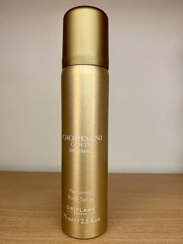 Парфюмированный спрей-дезодорант для тела giordani gold