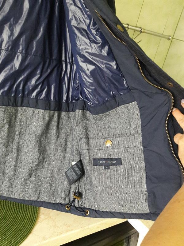 Стильная куртка tommy hilfiger - Фото 3