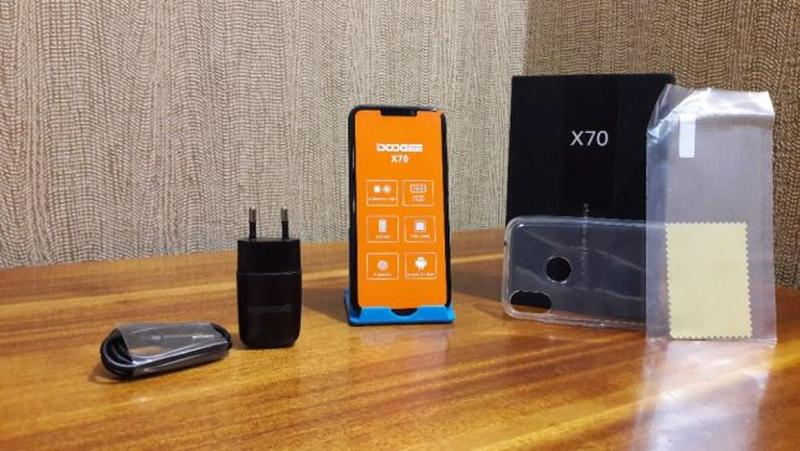 "Смартфон Doogee X70 Black Gold Blue 2/16Gb 5.5"" 4000mAh Новый ..."
