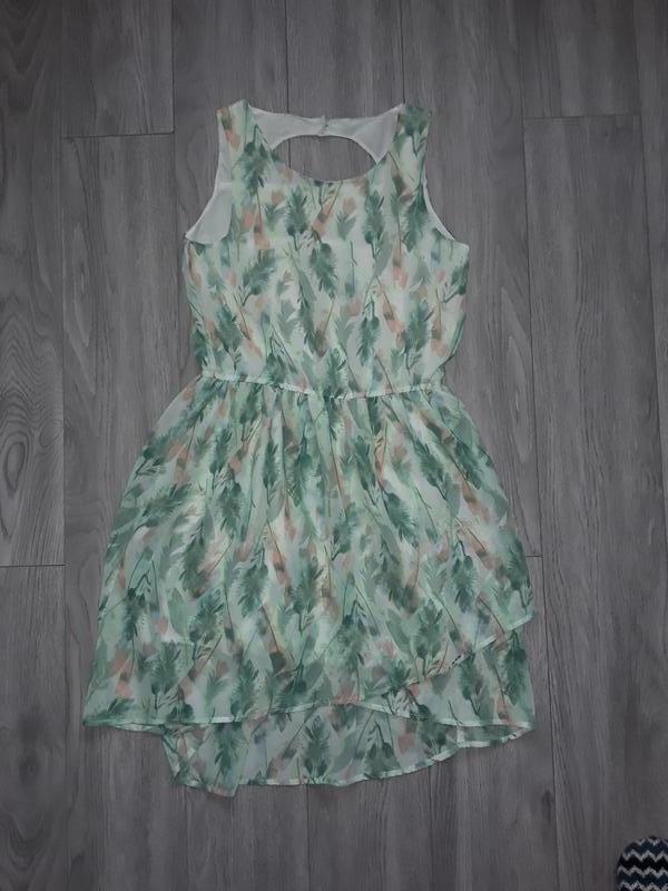 Летний сарафан, летнее платье с вырезом на спине